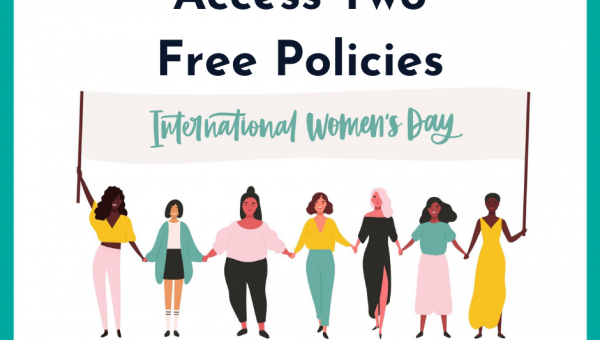 International Women's Day - Free Access To Menopause Policy & Miscarriage Policy
